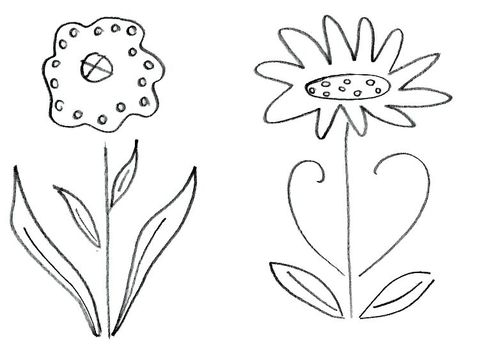 Number Names Worksheets pictures of flowers to trace : The Romantic Period. | Cinderella for a day