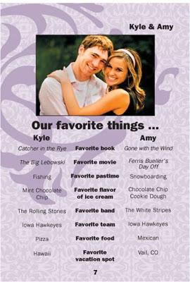 wedding bio examples